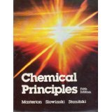 Chemical Principles, William L. Masterton, 0030707447
