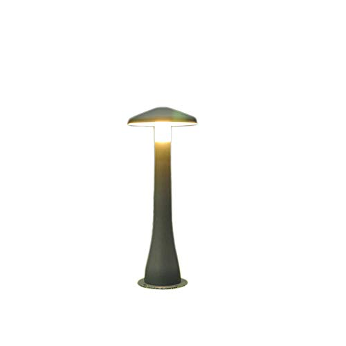 KMYX Impermeable IP55 Luces Led para césped Seta Aluminio Acrílico Exterior Post Linterna Exterior Jardín Luces...