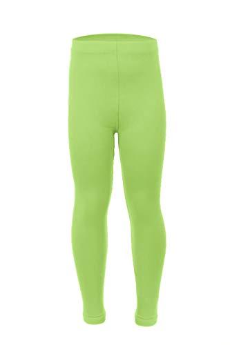 Leggings Depot Kids Ultra Soft Basic Solid Plain Leggings Pants (Large/XL, -