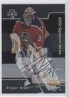 Signature Series Autographs Hockey Card (Trevor Kidd (Hockey Card) 2001-02 In the Game Be A Player Signature Series - [Base] - Autograph [Autographed] #185)