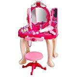 Super Cute Pink Princess Make Up Vanity Table For