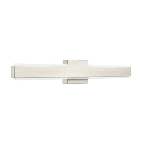 Sevano 30 inch LED Bathroom Vanity Lights | Brushed Nickel Bathroom Light LL-WL981-1SN-30