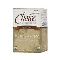 Choice Organic Teas White Tea - 16 Tea Bags - Case of 6 pack of - 5