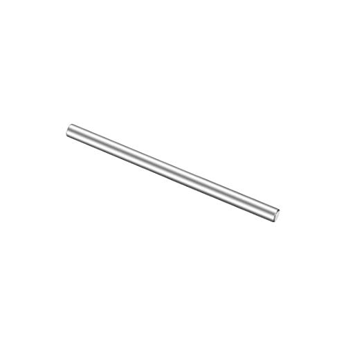 - uxcell Stainless Steel Solid Round Rods Metal Lathe Bar Stock for DIY Craft 50mmx3mm