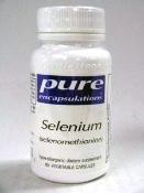 Чистые инкапсуляции - Селен (селенометионина) 60-[Здоровье и красота]