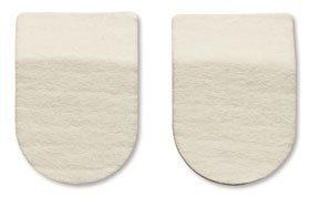 HAPAD Heel Pads, 2-1/2 x 1/2 inch, pack of 3 pairs by HAPAD