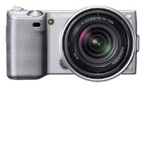 Sony Alpha NEX NEX5K/S Digital Camera with Interchangeable Lens (Silver)