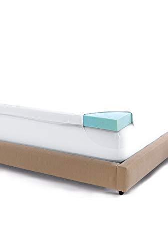 Serta 3 Inch Gel Memory Foam Soothing Cool Mattress Topper Twin XL (3' Topper Serta Mattress Foam Memory)