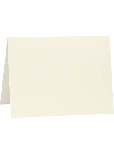 Cards Correspondence Casual (A6 Folded Card (4 5/8 x 6 1/4) - Natural (250Qty) | Perfect for Personal Stationery, Invitation Suite Inserts, Casual Correspondence and much more! | A6FN-250)
