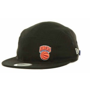 New Era Men's New York Knicks POP STRAP CAMPER Adjustable NBA Hat (New Era Camper Hat)