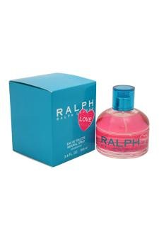 Ralph Lauren Ralph Love Eau de Toilette Spray for Women, 3.4 - By Lauren Woman Ralph