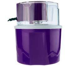 Deni Ice Cream Maker 1.5 qt. Automatic Ice Cream & Dessert Maker, Purple