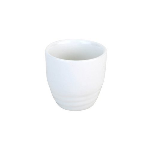 (M.V. Trading 201-69 White Porcelain Sake Cups, 2-Inch, 2-Ounce, Set of 1 Cup)