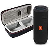JBL Flip 4 Portable Bluetooth Wireless Speaker Bundle with Protective Travel Case - Black from JBL
