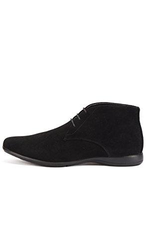 con Uomo Shoes Nero Reservoir Lacci Perm Stivaletti Ew7aqz6