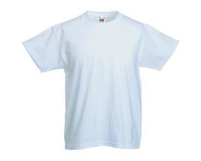 Of T Kinder Shirt ShirtsAmazon Gr128 Fruit Loom Weiss The LUqGzSVpM