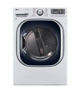 LG DLGX4271WSteamDryer 7.4 Cu. Ft. White Stackable With Steam Cycle Gas Dryer Special Offers