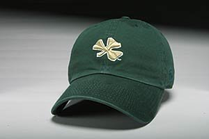 Notre Dame Fighting Irish Green Player Fitted Hat by ZephyrサイズMedium B0796DV6RX