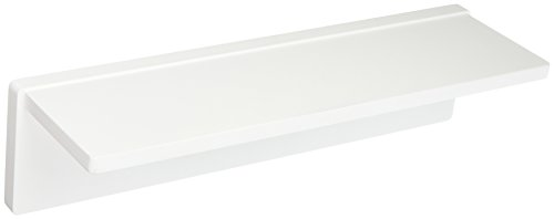 L-shaped Shelves (Honey-Can-Do SHF-04395 L-Shaped Wall Shelf with Mounting Hardware, White, 15.75L x 3.94W x 4.53H)