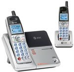AT&T E5902B 5.8 GHz two cordless telephone combo with caller ID/call waiting