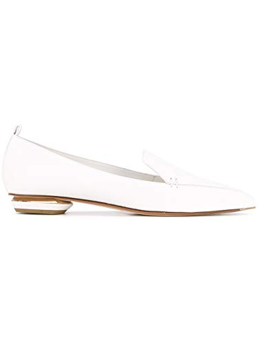 Kirkwood 902a11vbt1w01 Bianco Ballerine Donna Nicholas Pelle ZSwOqqx