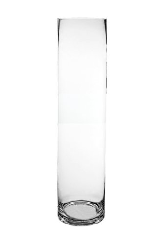 Amazon Wgvi Clear Cylinder Glass Vasecandle Holder 4 X 16h