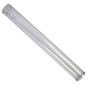Plastic Protective Tube for Door Pressure Gauges | Use with Amazon ASIN: B0040081UM and B004AY5LRY