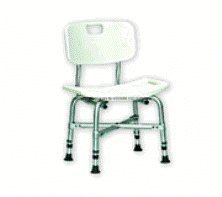 Bariatric Bath Chair With Back by Invacare