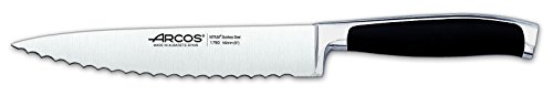 Arcos Fully Forged Kyoto 6-1/2-Inch Kitchen Serrated Blade Knife by ARCOS