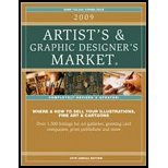 2009 Artists & Graphic Designers Market (09) by Books, Editors of Writers Digest [Paperback (2008)]
