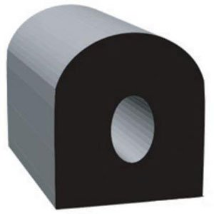 .500 X .500 ''D'', Epdm, Black by Clean Seal