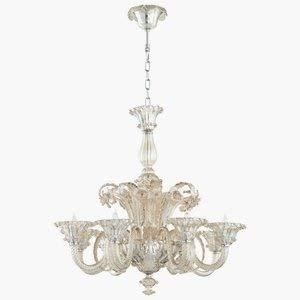 Cyan Design 06445 La Scala Eight Light Chandelier Large