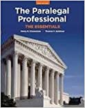 The Paralegal Professional: Essentials 3th (third) edition