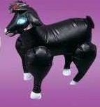 Inflatable Party Sheep- Black by Bewild