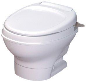 Thetford 31646 Aqua-Magic V Toilet, Low / Hand Flush / White by Thetford