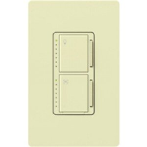 Lutron MA-ALFQ35-AL Fan Speed Control Dual Function Maestro Companion - Almond-2PK