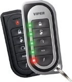 DEI 3203V Viper Super Code 2-Way Responder LE Car Alarm Vehicle Security System with Keyless Entry