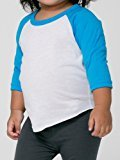 American Apparel Infant Poly-Cotton 3/4 Sleeve