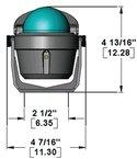 Ritchie Navigation B51 EXPLORER COMPASS BLACK-BKT/MT EXPLORER