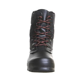 Hunter quilted LACE Up short Wellington Boots -  - Colour negro