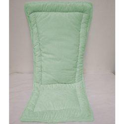 Minky High Chair Cushion - Color: Green