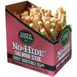Earth Animal No-hide Salmon Stix 90 Count Value Box by Earth Animal