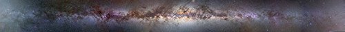 Posterazzi A complete 360 degree panorama of the Milky Way Poster Print (46 x 4) - Panorama Way Milky