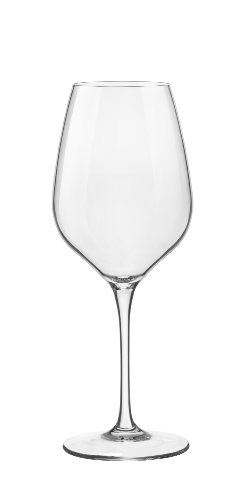 Bormioli Rocco Wine (Bormioli Rocco 18.5 oz Tre Sensi Glasses (Set of 6), Large, Clear)
