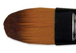 (Ebony Splendor Brush Long Handle Filbert 18)