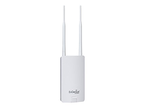 Engenius Outdoor Wireless Access Point N300, 5GHz, Removable Antenna (ENS500EXT) by EnGenius