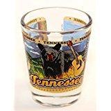 Tennessee State Wraparound Shot Glass