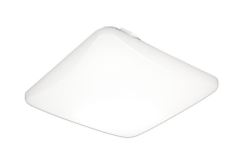 - Lithonia Lighting FMLSL 11 14840 M4 Contractor Select Square 11-Inch LED Flush Mount Light White