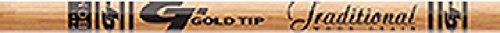 Hunter 5575 Arrows - 12 - Pk. Gold Tip Traditional Hunter Shafts, 55/75