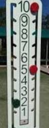 Har-Tru Tennis Court Score Keepers - LoveOne Scoreboard - Green and Red Indicators